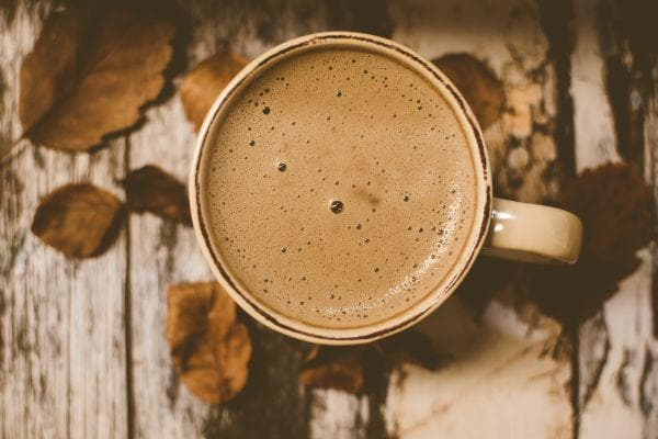 горещо какао и ашваганда