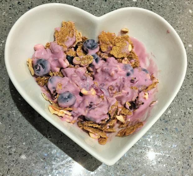 закуска с горски плодове