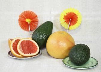 Грейпфрут и авокадо