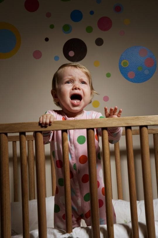 Погрижете се за нуждите на детето през нощта