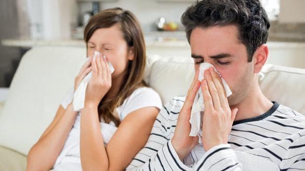 Мъж и жена с хрема