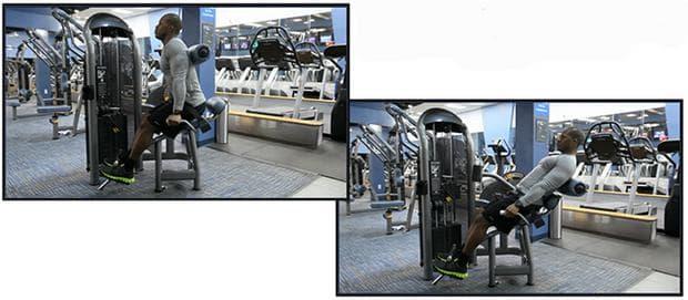 Гръбни екстензии на фитнес машина