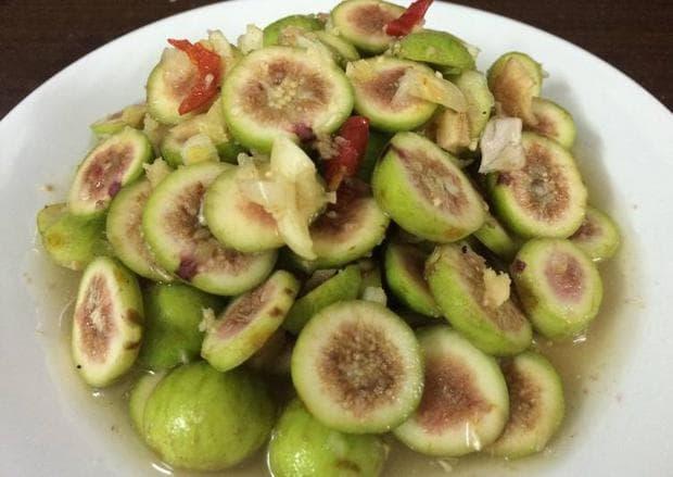 салата от зелени плодове гулар