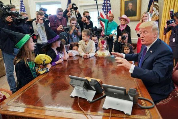 Доналд Тръмп с деца