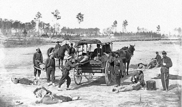 Линейка от Гражданската война в САЩ