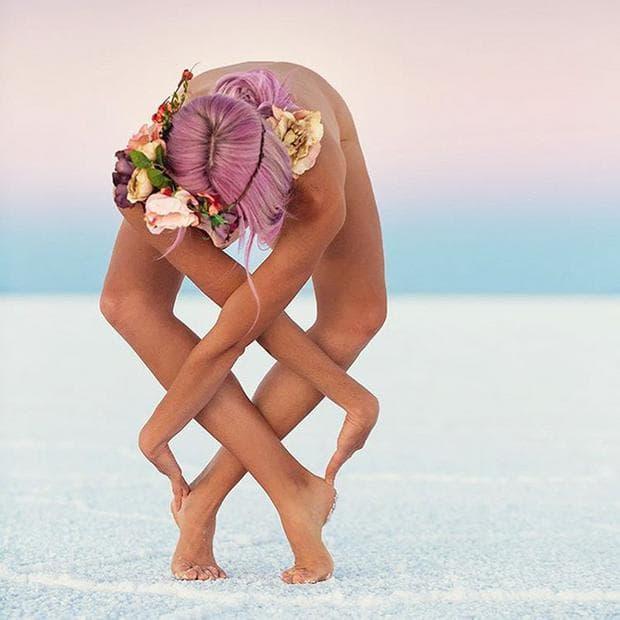 йога поза