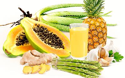 витаминна напитка от няколко плода