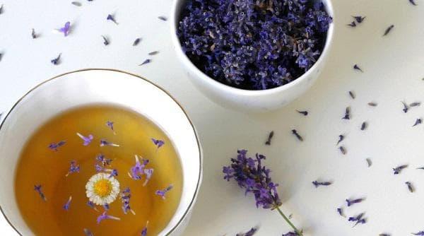 Чай с лавандула
