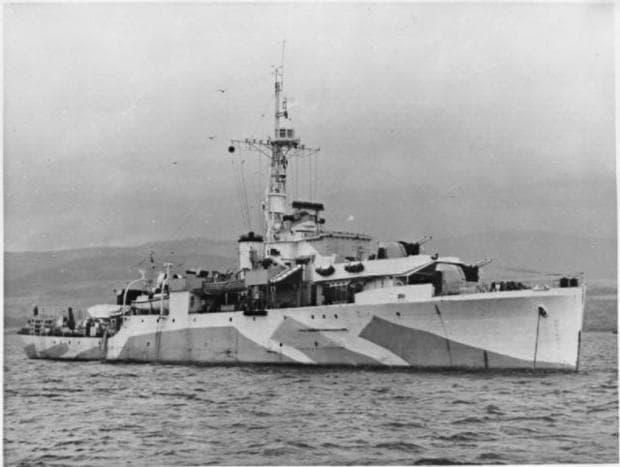 Корабът HMS Аметист