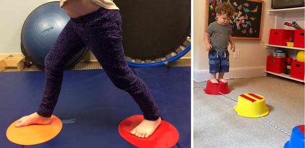 Упражнения за баланс и координация