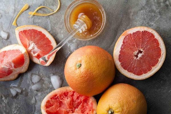 Мед и грейпфрут