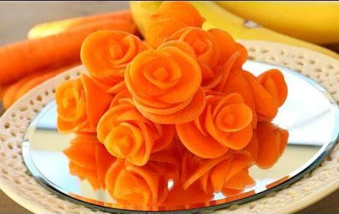 декорация с морков