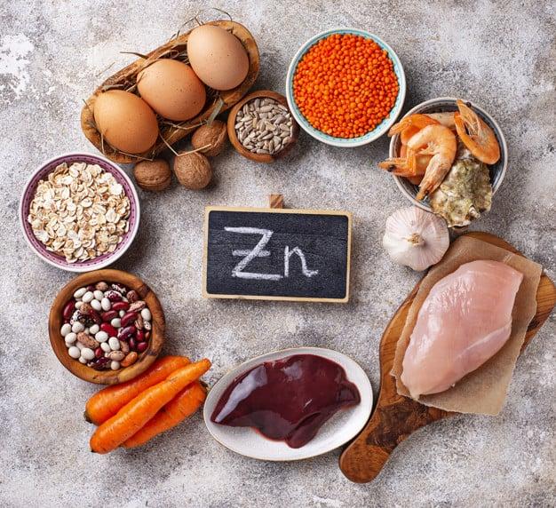 Хранителни източници на цинк