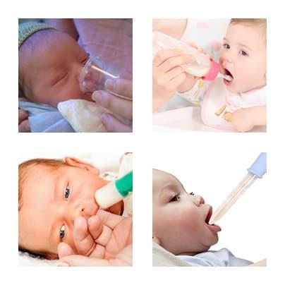 Хранене на бебето по различни начини