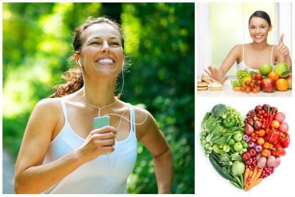 Хранете се и спортувайте, за да сте здрави