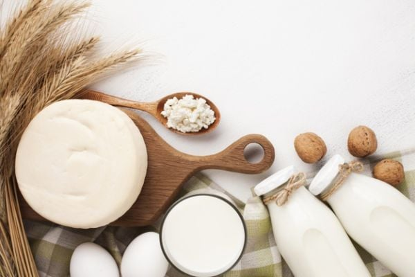Храни, богати на галактоза - млечни продукти.