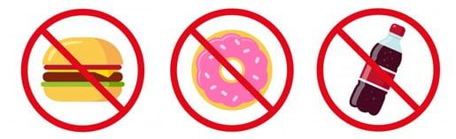 Неподходящи храни при диария