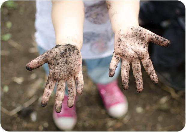 мръсни ръце