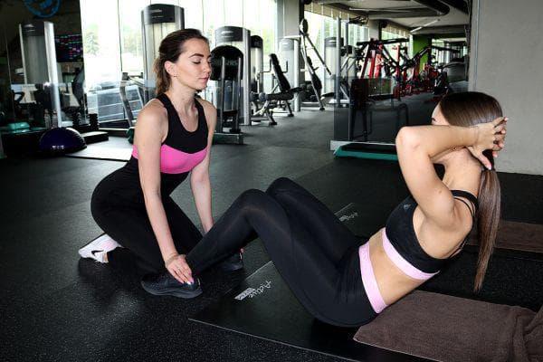 Виктория и Анастасия тренират заедно