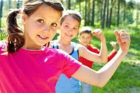 Деца показват, че са силни