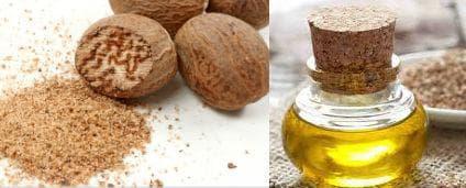 Индийско орехче и сусамово масло