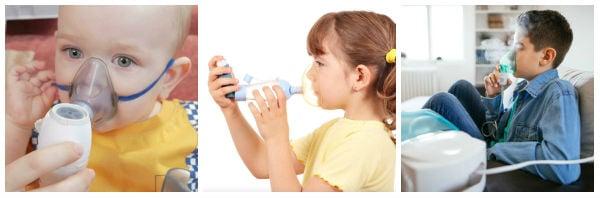 Инхалации при деца: какви са опциите