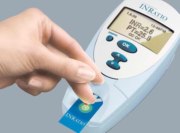Измерване на INR до леглото на болния