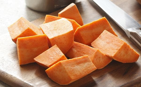 Нарязан картоф