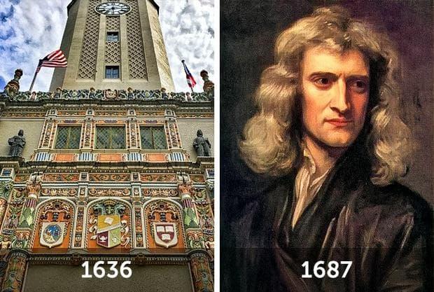 Харвардския университет и Нютон