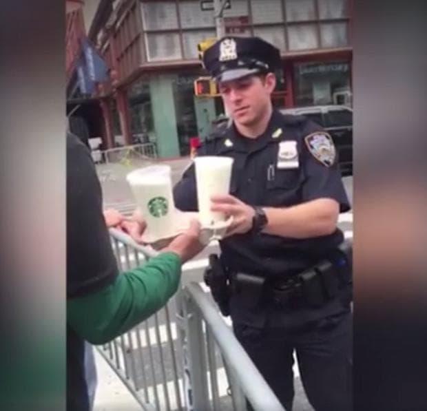 кафе за полицаи