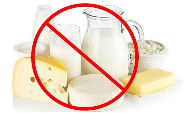 Избягване на млечни продукти