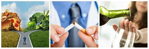 Изкореняване на вредните навици - здравословна промяна в начина на живот