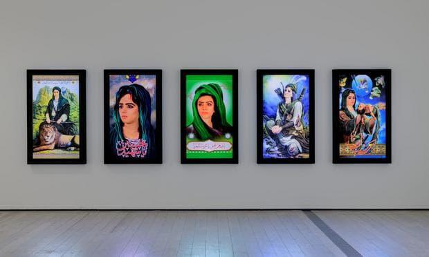 Изложби на иранско изкуство
