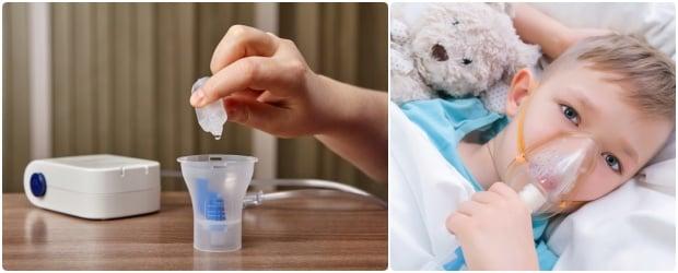 Използвани лекарства за инхалации при бронхит