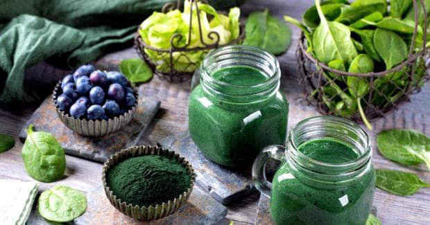 Храни богати на хлорофил