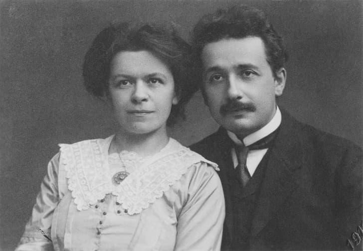Алберт Айншайн и Милева Марич