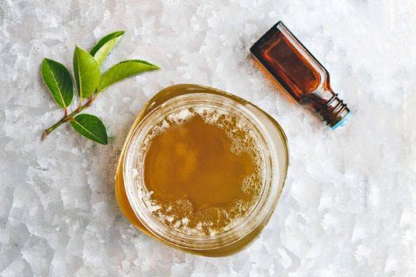 Желе от евкалипт и зелен чай