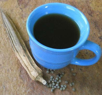 Кафе от семената на бамя