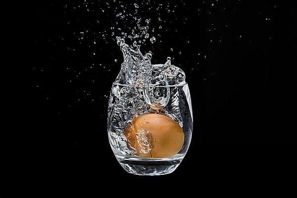 яйце във вода