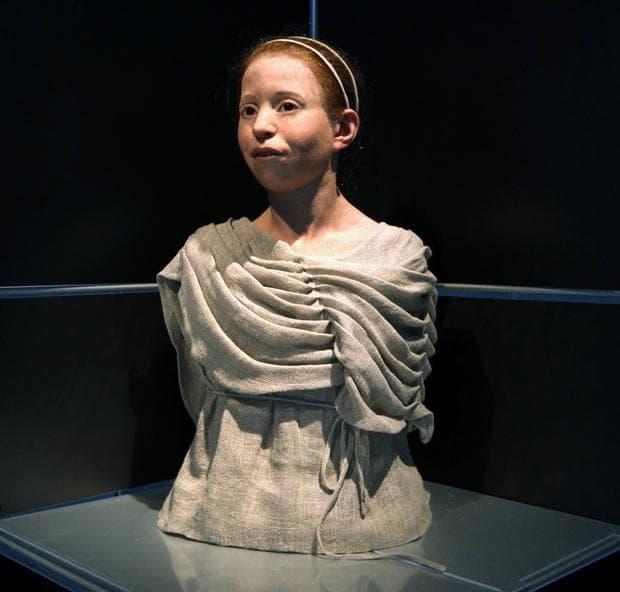 момиче от Древна Гърция