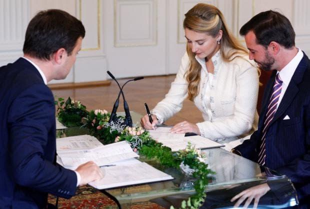 сватба в Люксембург