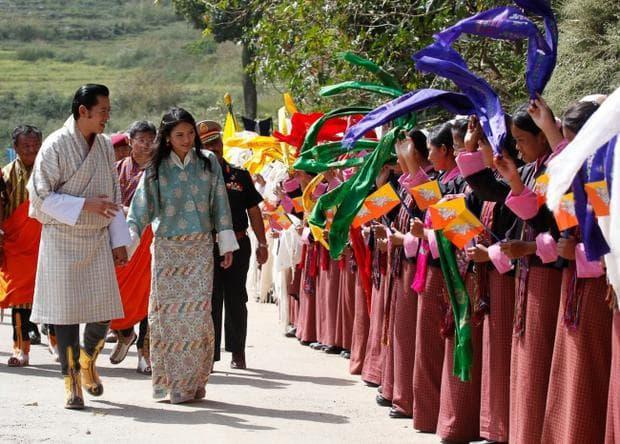 сватба в Бутан