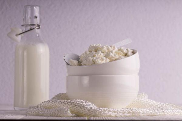 Как се прави домашно котидж сирене.
