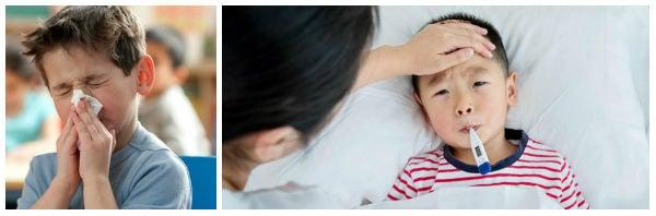 Как да различим грип от настинка при децата?