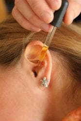 Как се прилагат капките за уши?