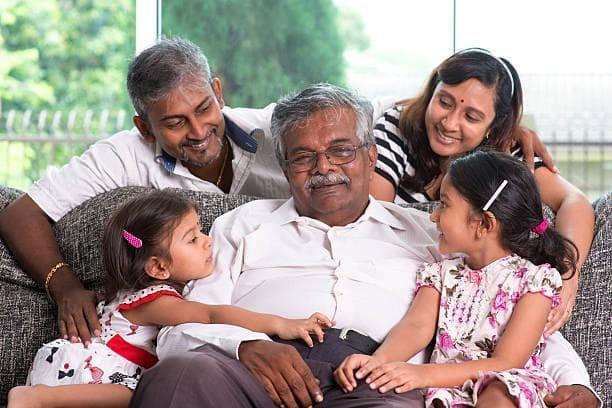 индийско семейство