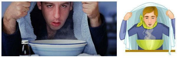 Какво представлява лечението с парна инхалация?