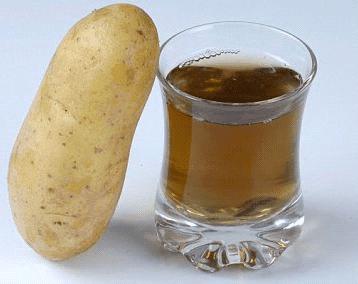 сок от картоф