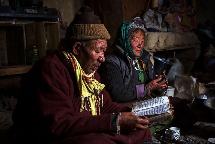Животът на пастирите - номади е суров и труден