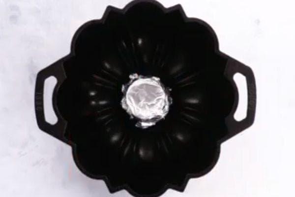 запечатване на форма за кекс